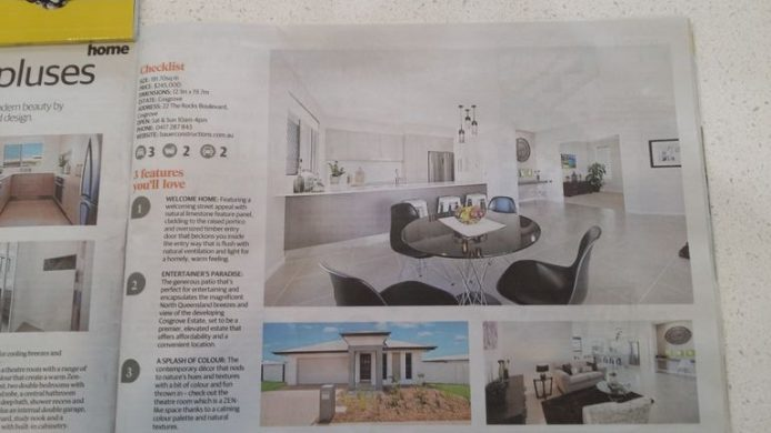 Our Cosgrove Display House Makes The Paper!