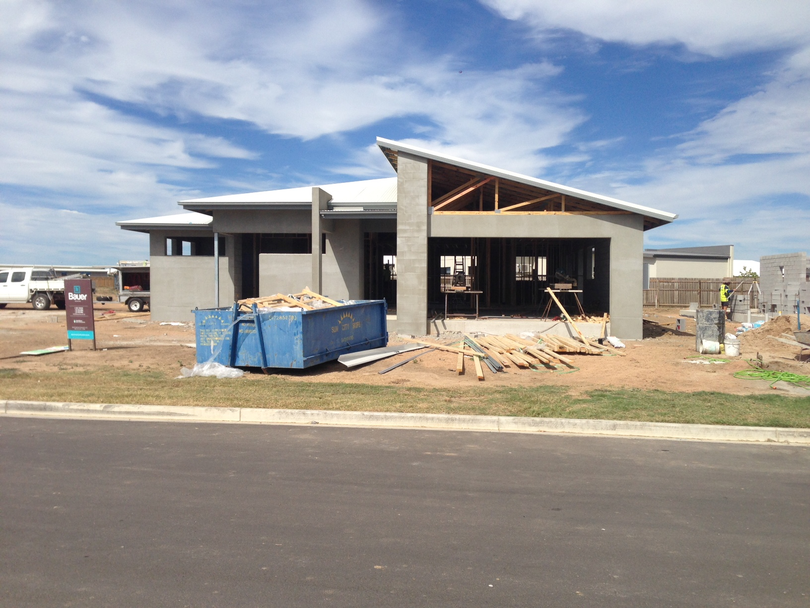Bauer Constructions Display Home underway