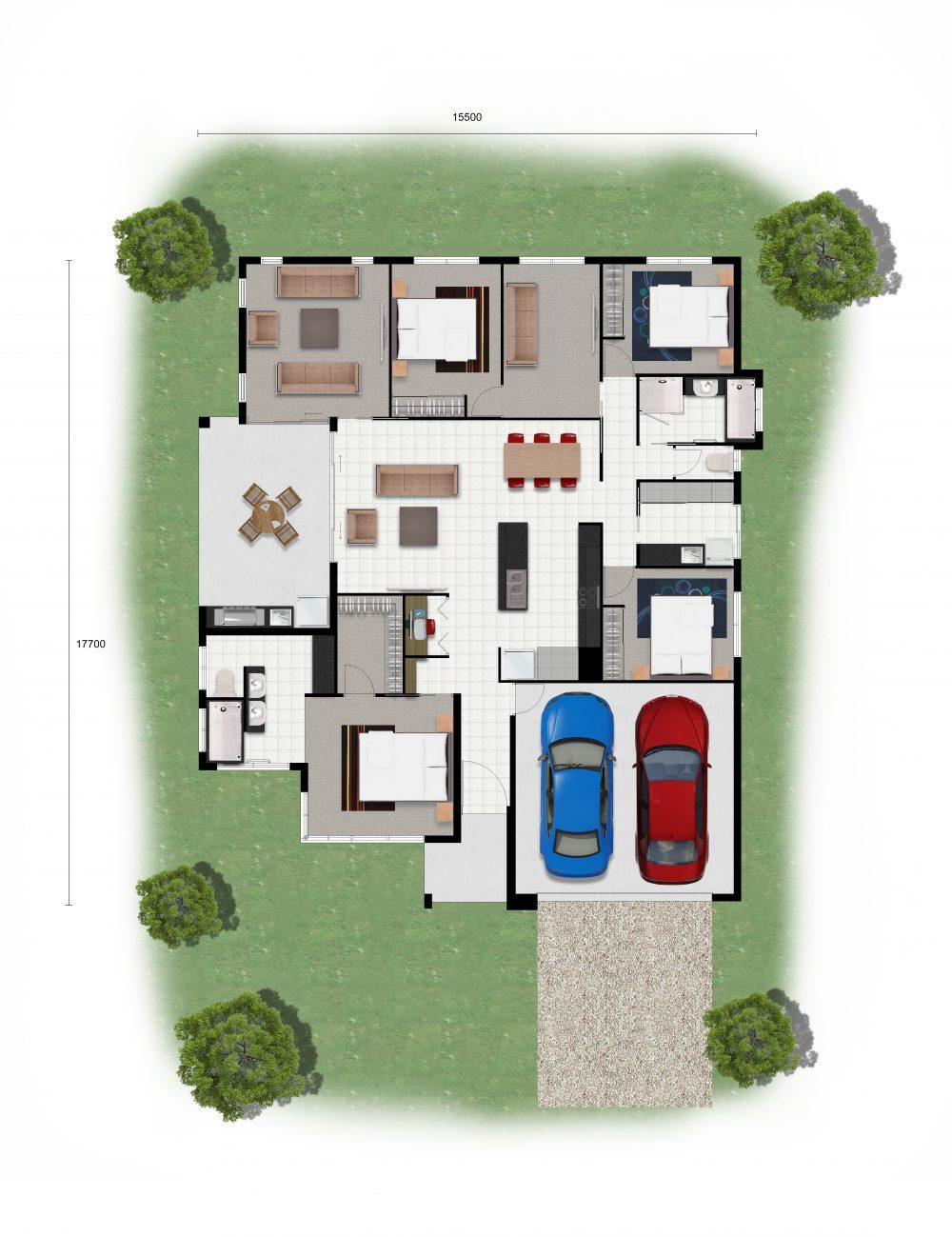 Knightsbridge 245 - Floor Plan