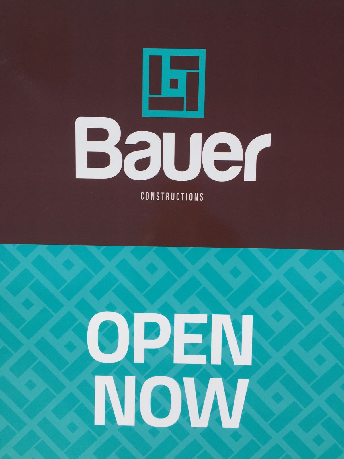Bauer Now Open